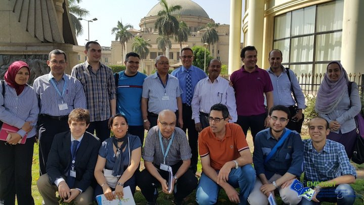 Students of the International Seminars in Egypt